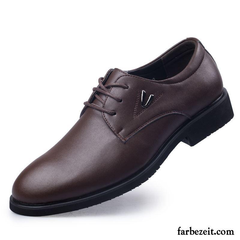Plus Schuhe Samt Herren Herrenschuhe Baumwolle Wildleder Braun e9bIYD2EHW