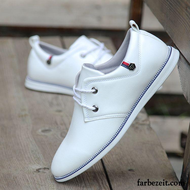 buy popular 7eb42 d607c Leder Schuhe Größe 39 Casual Herbst England Feder Lederschue ...