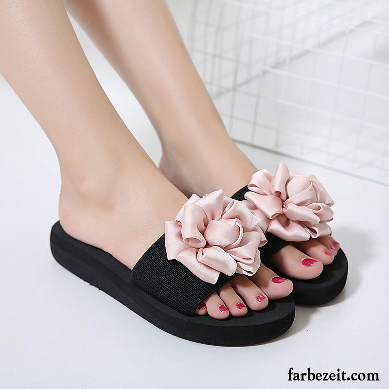 Plüsch Hausschuhe Damen Neue Schuhe Flache Hausschuhe Sommer