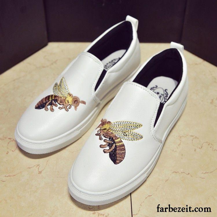 newest a3ba4 742a9 Schicke Sneaker Damen Casual Halbschuhe Feder Neue Flache ...