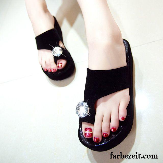 warme pantoffeln damen sommer hausschuhe flache schuhe sandalen strand keilschuhe neue kaufen. Black Bedroom Furniture Sets. Home Design Ideas