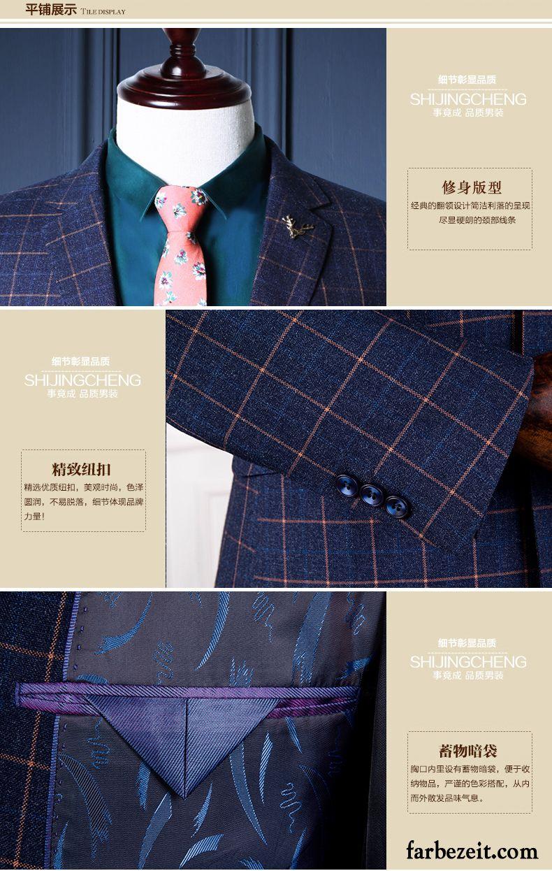 quality design 7defb 28820 Anzug Herren Junge Mode Kostüm Jugend Schlank Hochzeit Ein ...