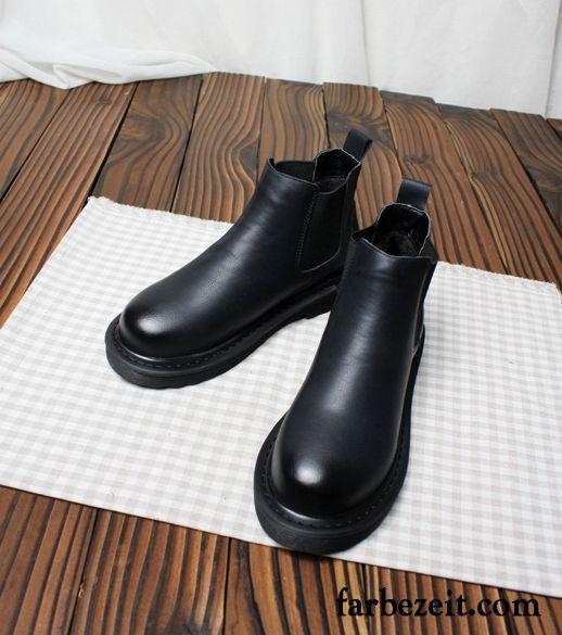 competitive price 314cc 6d233 Braune Stiefel Damen Ohne Absatz Martin Stiehlt Flache ...
