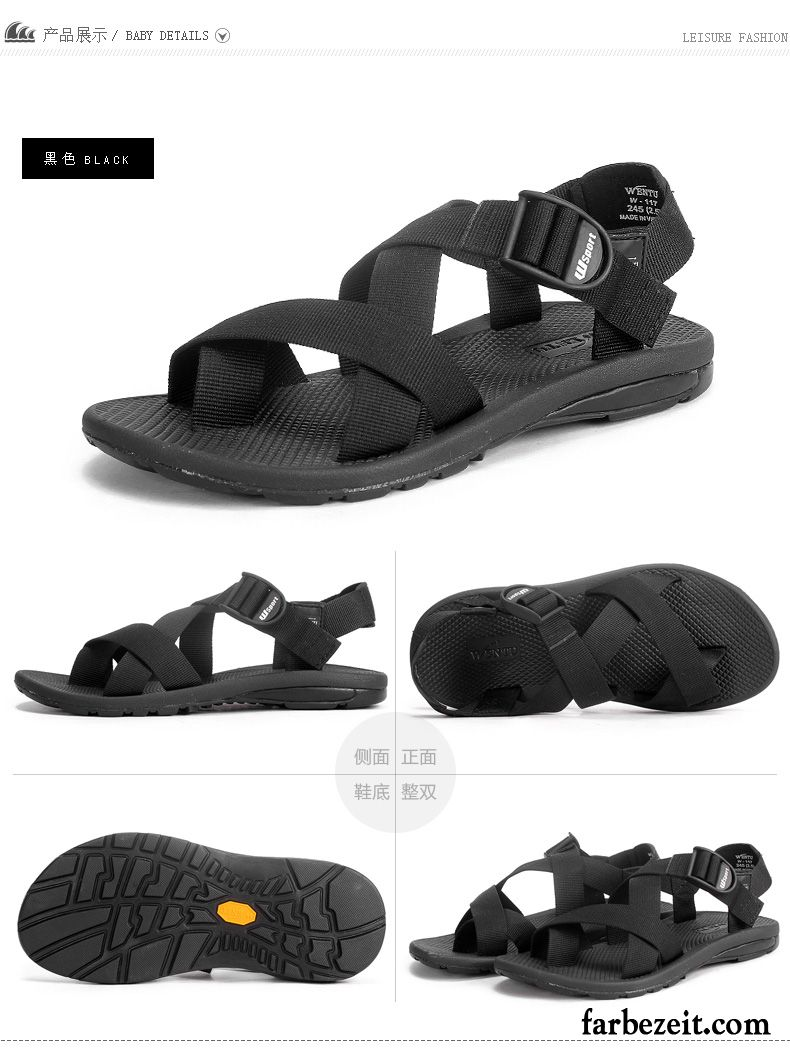 Schuhe Draussen Römische Sommer Sandalen Strand Neue Trend Herren MLSGpqUzV