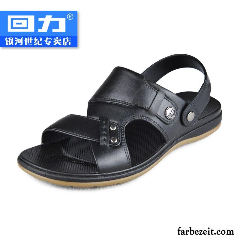 Clogs Schuhe Herren Tragen Rutschsicher Sandalen Casual Atmungsaktiv
