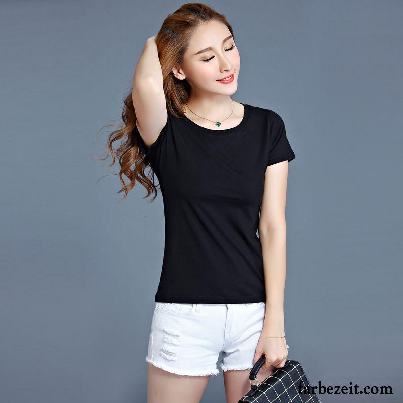best loved f887e f6bb9 Coole Damen Shirts Sommer T-shirts Rein Neu Baumwolle ...