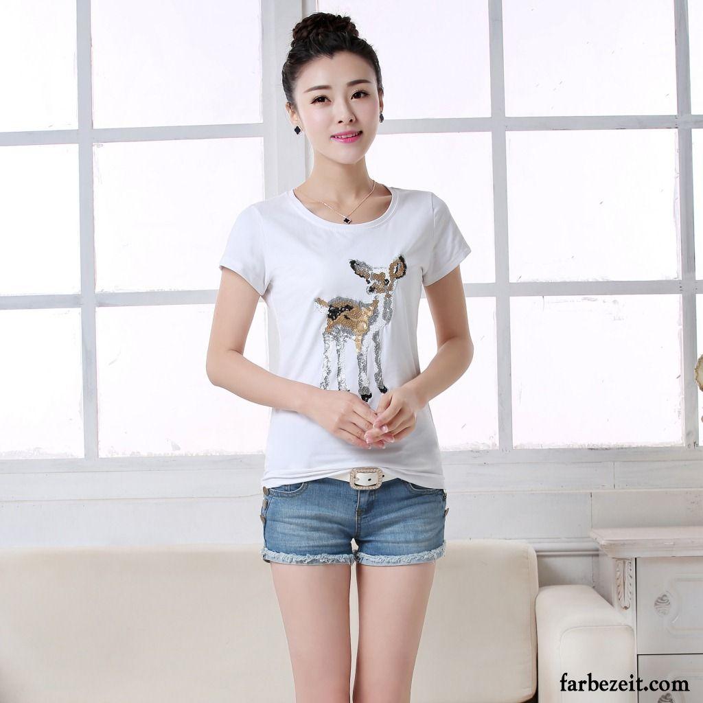 big sale dd561 24c36 Coole T Shirts Damen Allgleiches Mantel Schlank Neu Feder ...