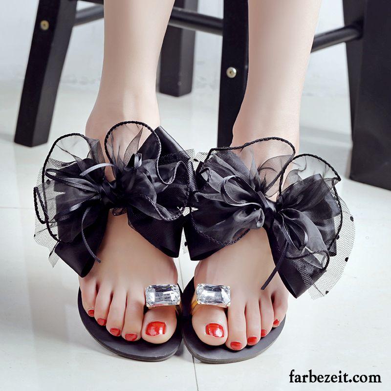 promo code b903a 97869 Lammfell Pantoffeln Damen Flache Mode Trend Pantolette ...