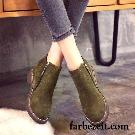 on sale b8f53 e641b Schuhe Günstig Kaufen Gefrostet Kurze Stiefel Damen Plus ...