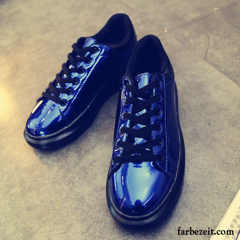 9e3ee7dd71 Schuhe Online Kaufen Günstig Schüler Feder Skaterschuhe Herren Lackleder  Lederschue Niedrig Trend Flache Casual