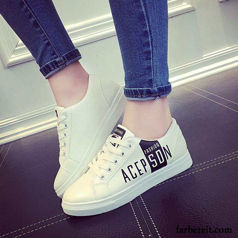 on sale 2414d cec88 Weiße Mode Schuhe Frauen Schnürung Damen Schuhe Allgleiches ...